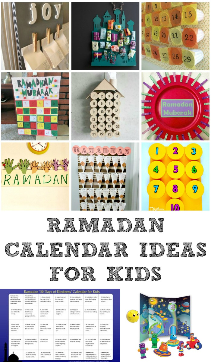 Diy Calendar For Kids : Ramadan decorations and calendars in the playroom