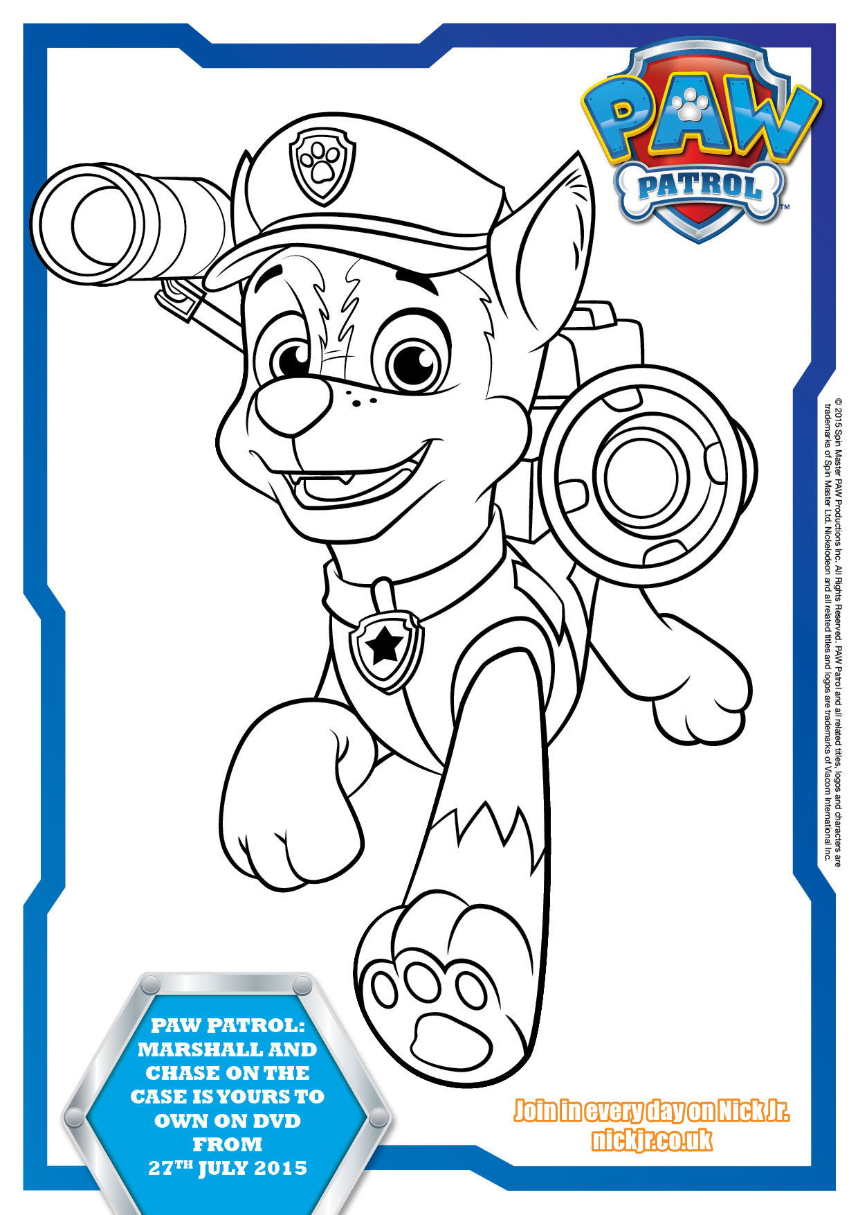 Candid image pertaining to paw patrol printable pictures