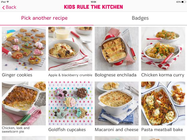 Annabel Karmel Family Cooking App Kids rule the kitchen