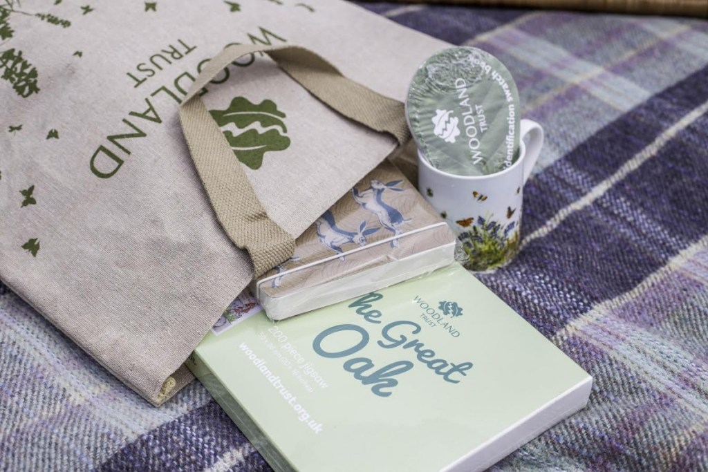 Woodland Trust goodie bag prize