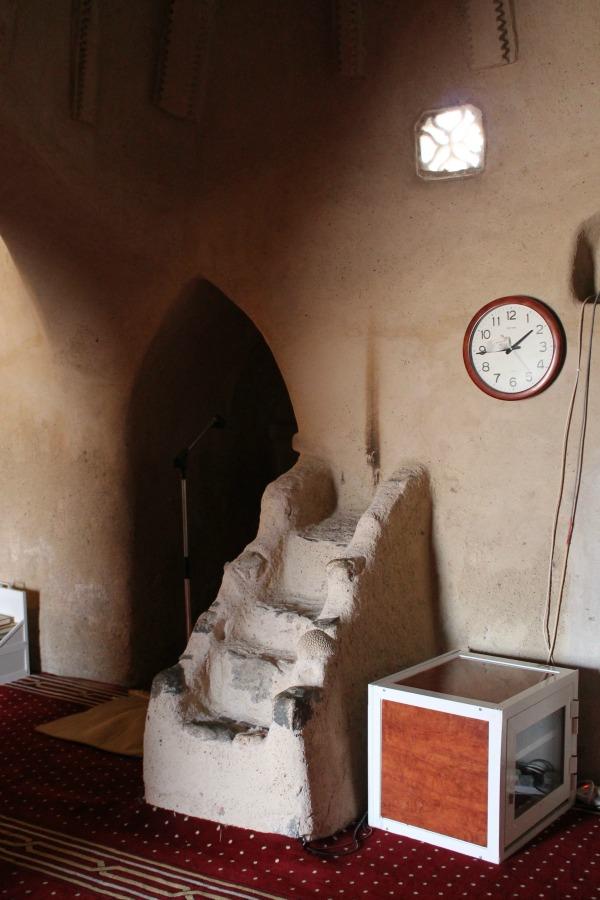 al bidya mosque inside