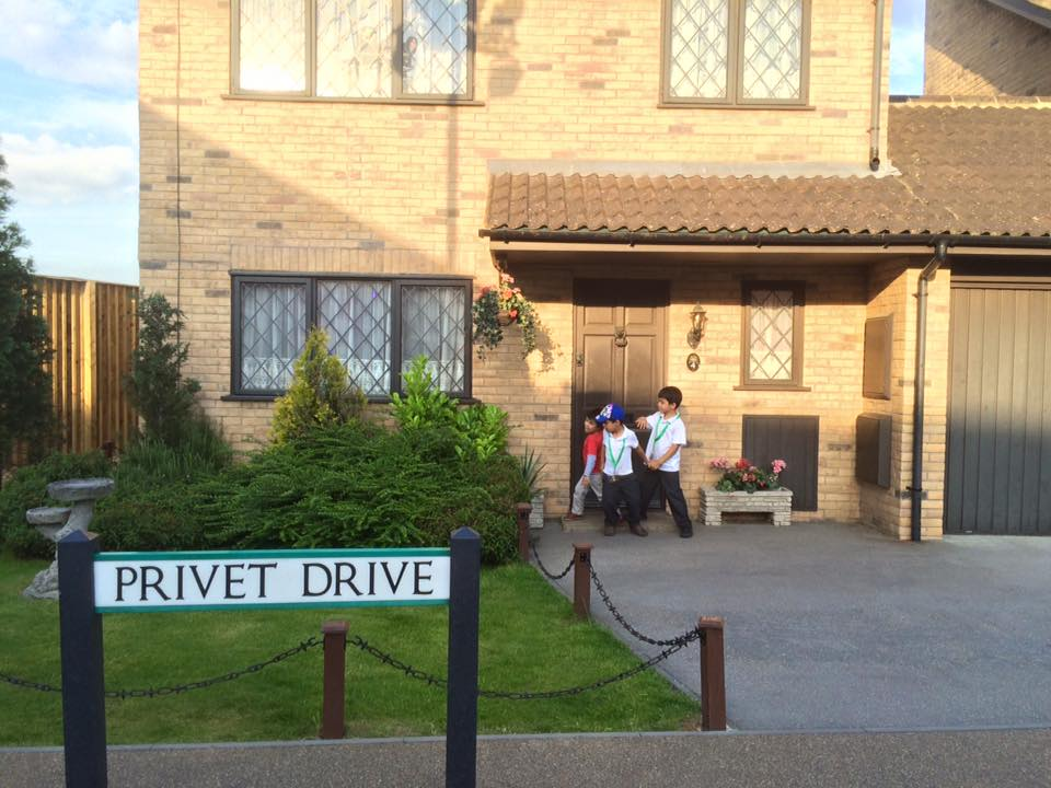 harry potter 4 privet drive at the warner bros harry potter studio tour