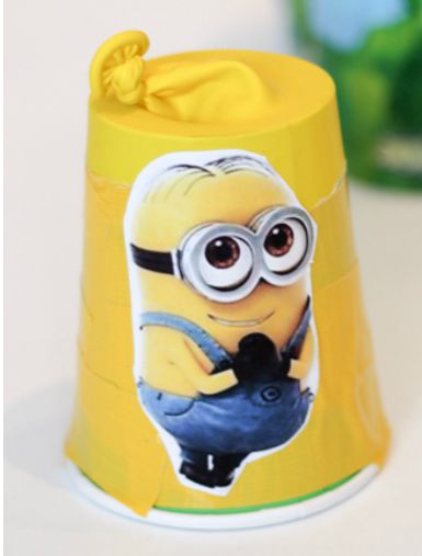 minion shooter for pom poms or marshmallows