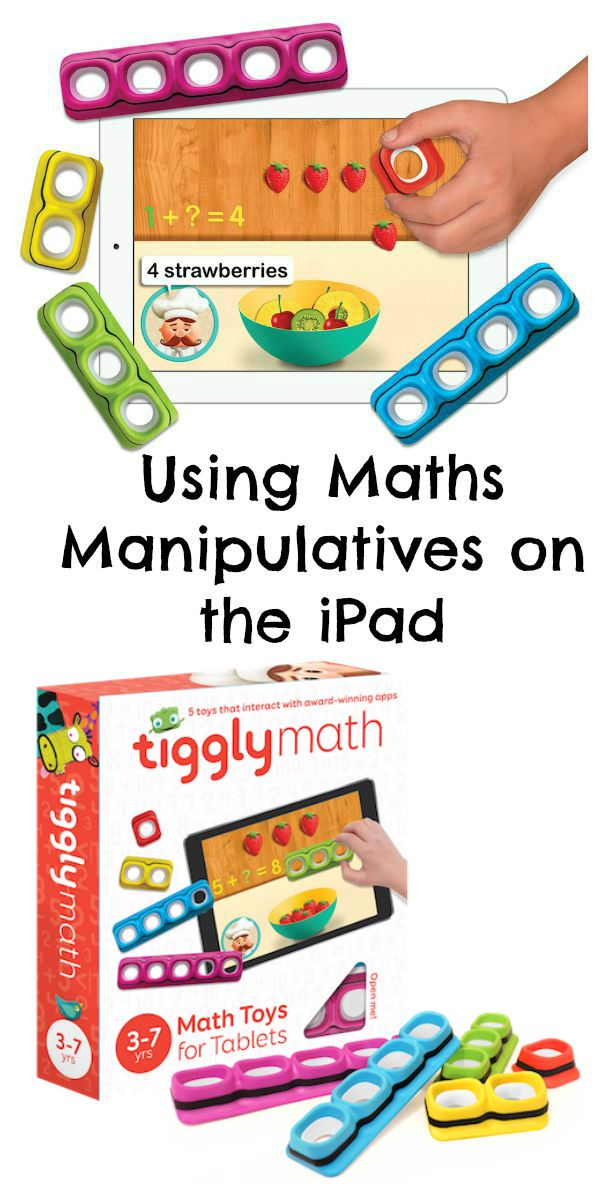 Using maths manipulatives on the ipad. How tiggly combines physical and digital learning for early math skills