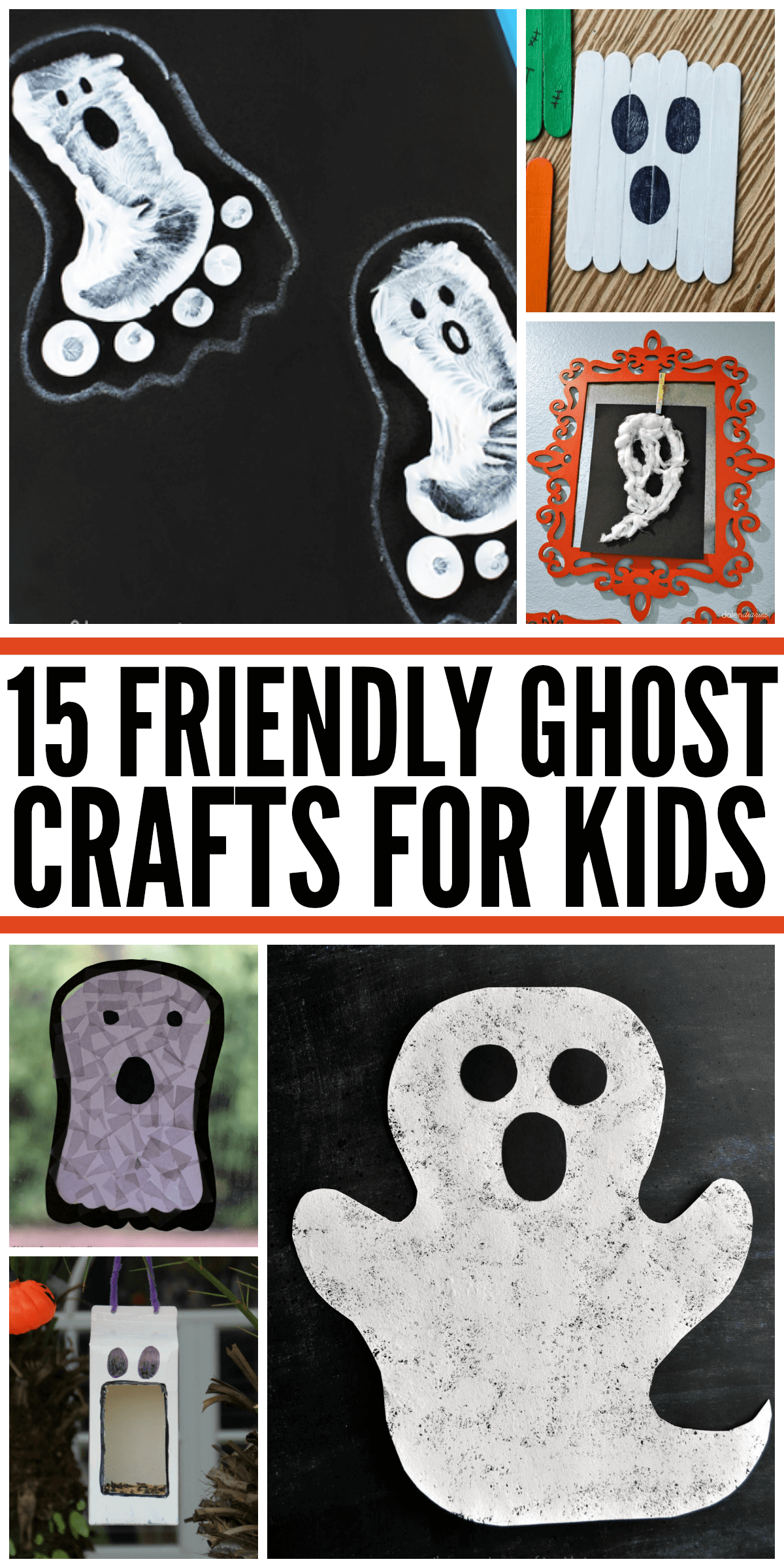 15 Friendly Ghost Crafts for Kids - In The Playroom
