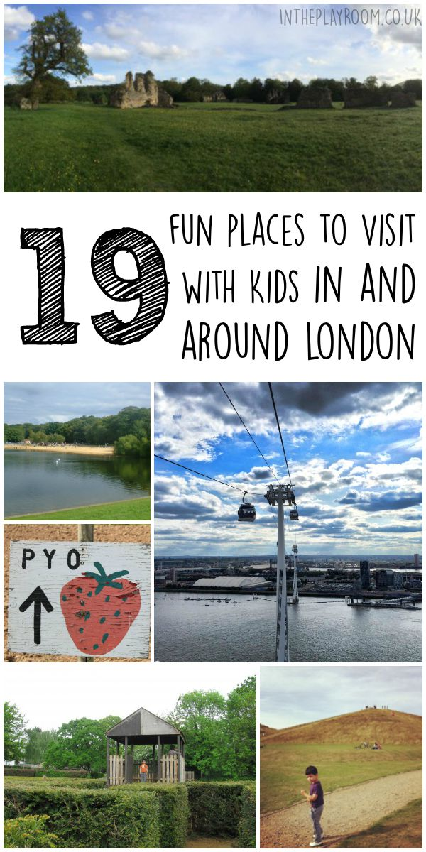19 Fun places to visit with kids in and around London