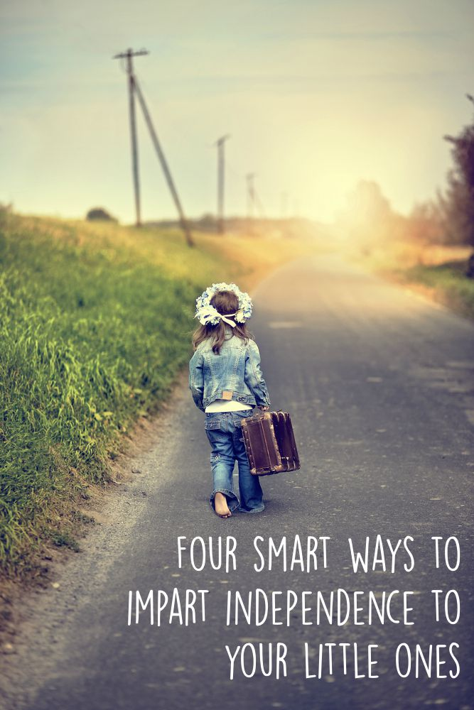Four smart ways to impart independence to your little ones, useful to get them ready for school