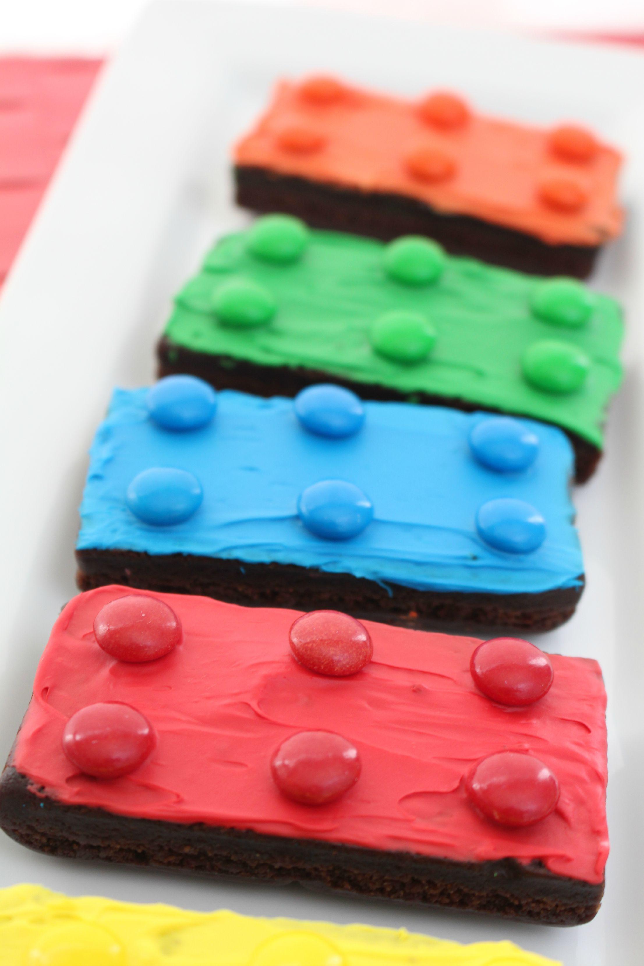 Easy Lego Brownies In The Playroom