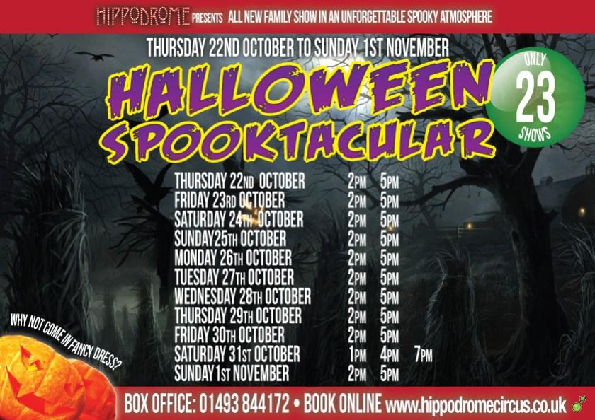 Great Yarmouth Hippodrome Halloween Spooktacular