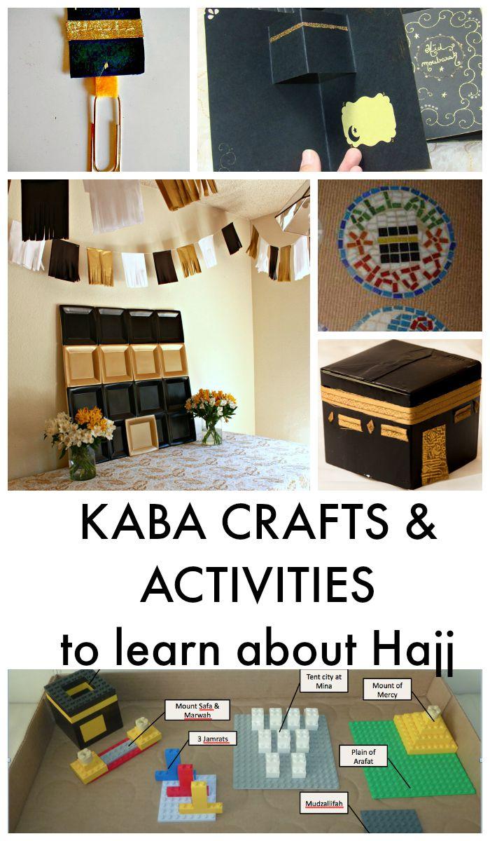 Umrah Banner: Eid Al Adha And Hajj Crafts For Kids