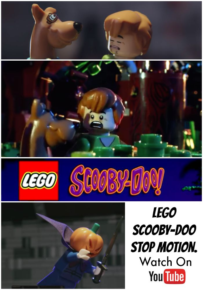 LEGO Scooby-Doo stop motion videos to watch on YouTube