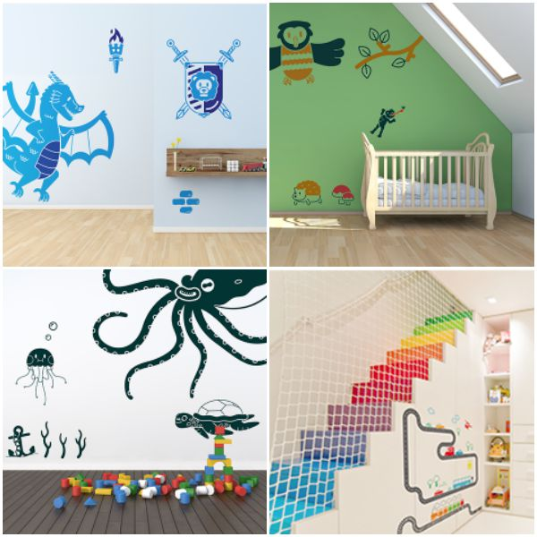 free printable wall stickers for childrens bedrooms