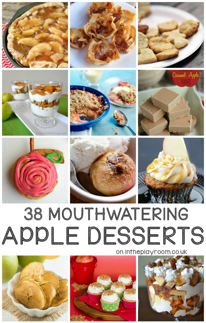 38 mouthwatering apple desserts recipes for fall. These are so good!