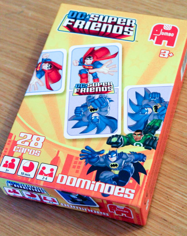 DC Super Friends Dominoes game