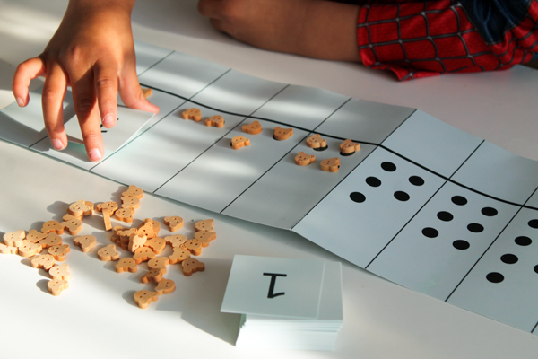 bear counters hands on montessori math activities