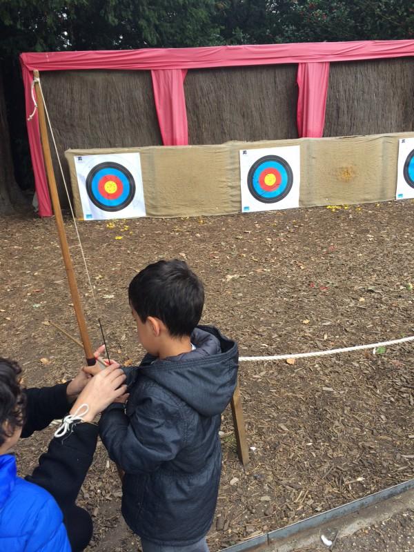 archery at warwick castle