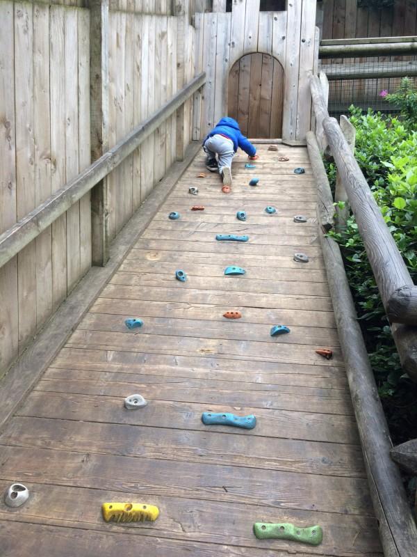 playground at warwick castle