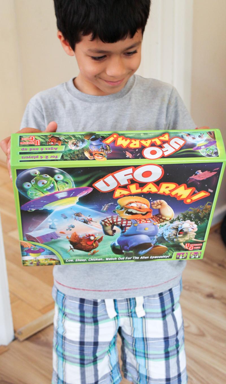 UFO Alarm game