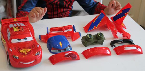 Disney Cars Gear Up McQueen Review