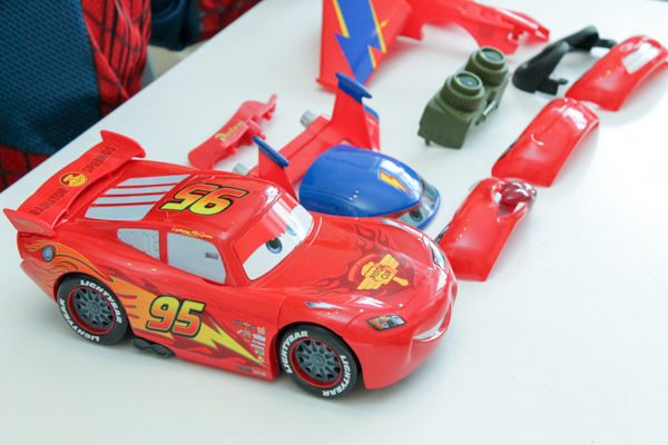 Disney Cars Gear Up McQueen Review