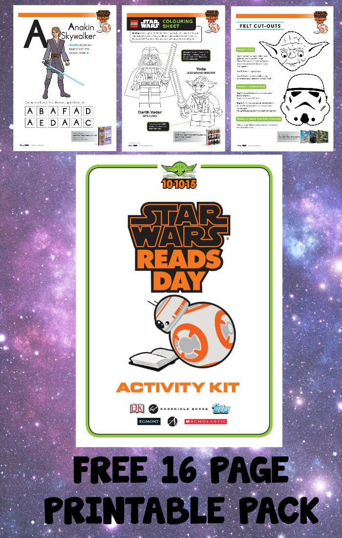 Amazing free Star Wars printables pack of 16 educational Star Wars activity sheets for kids, with writing prompts, drawing prompts, word puzzles, quizzes, Star Wars colouring and loads more.