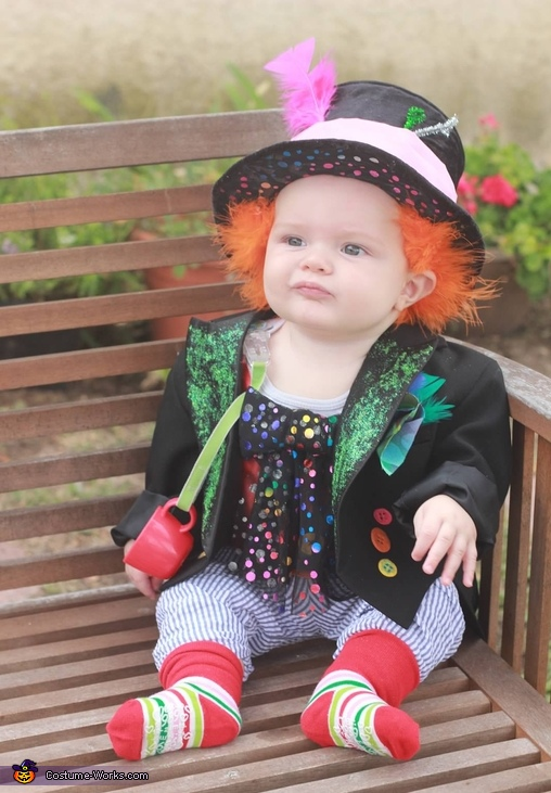 Mad hatter baby halloween costume idea from costume works