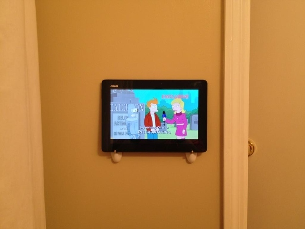 DIY wall mounted tv for cheap