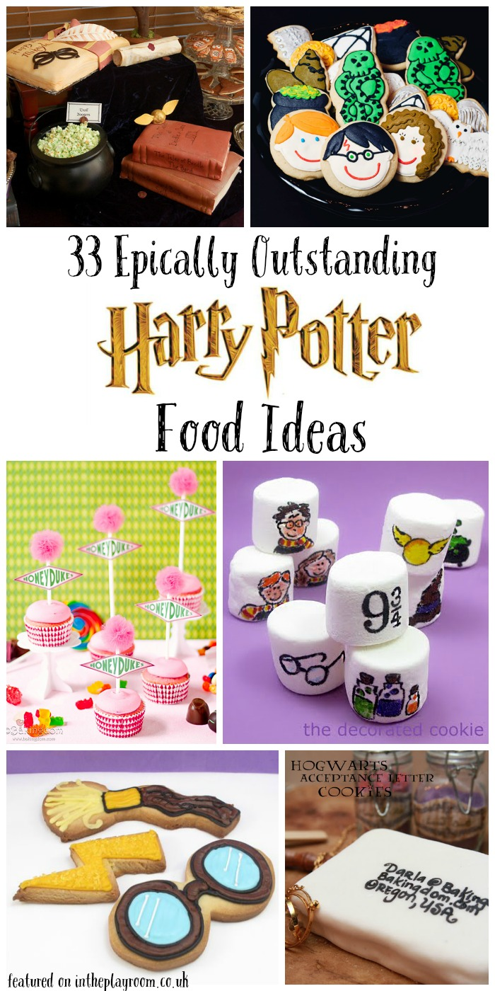 33 Epic Outstanding Harry Potter Food Ideas For A Party