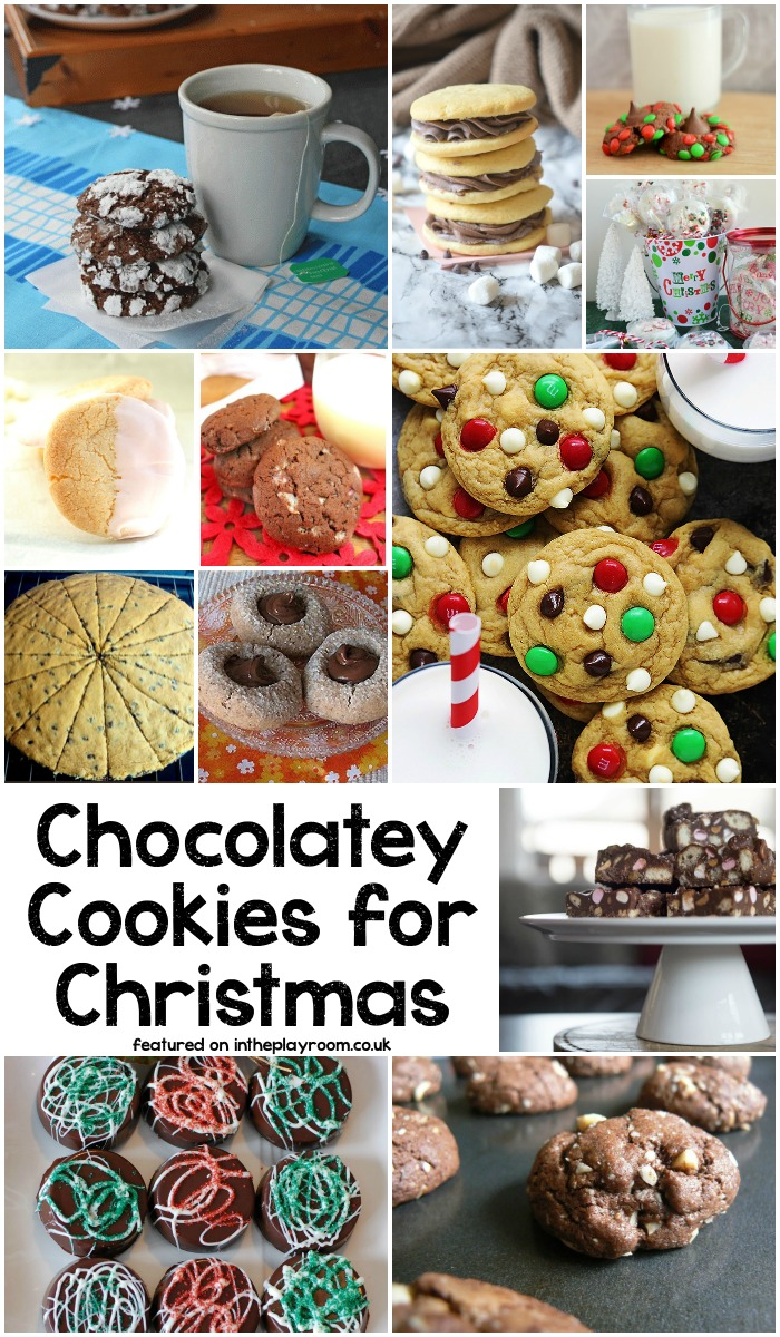 Christmas Chocolate cookie recipes