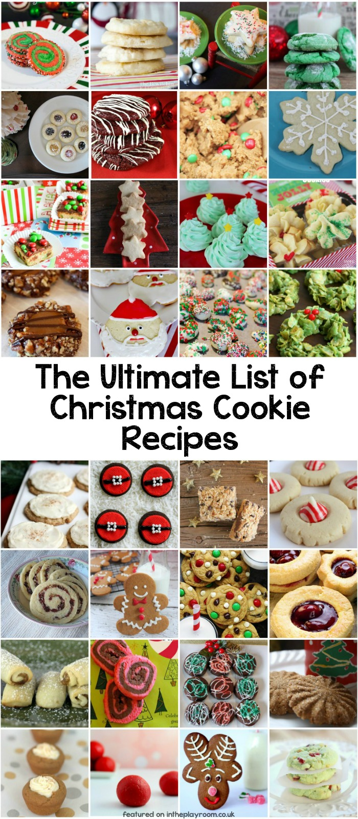 The Ultimate Collection Of 85 Christmas Cookie Recipes In The Playroom