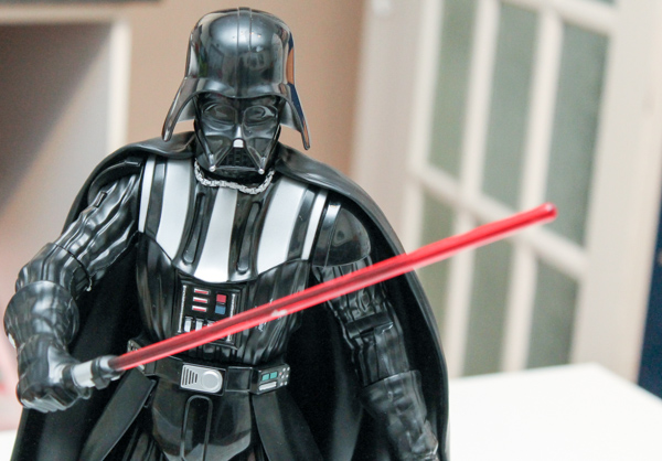 talking darth vader figure