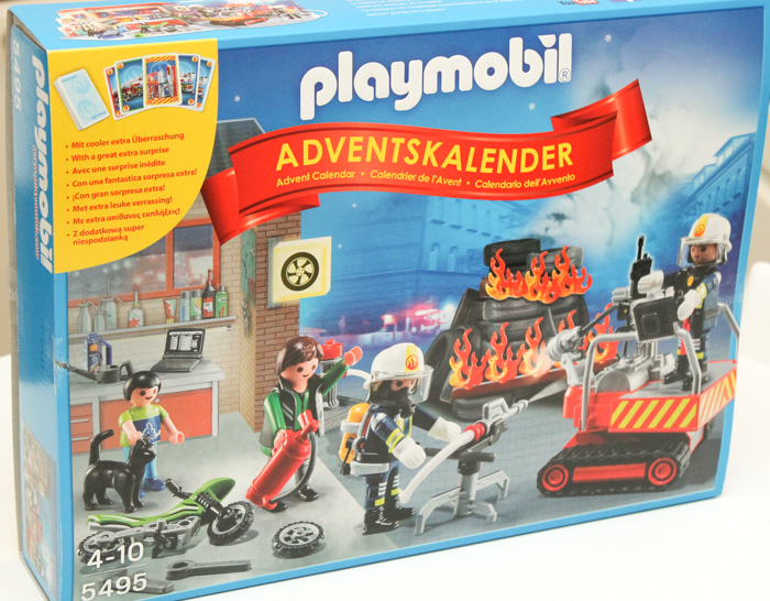 PLAYMOBIL advent calendar fire rescue operation