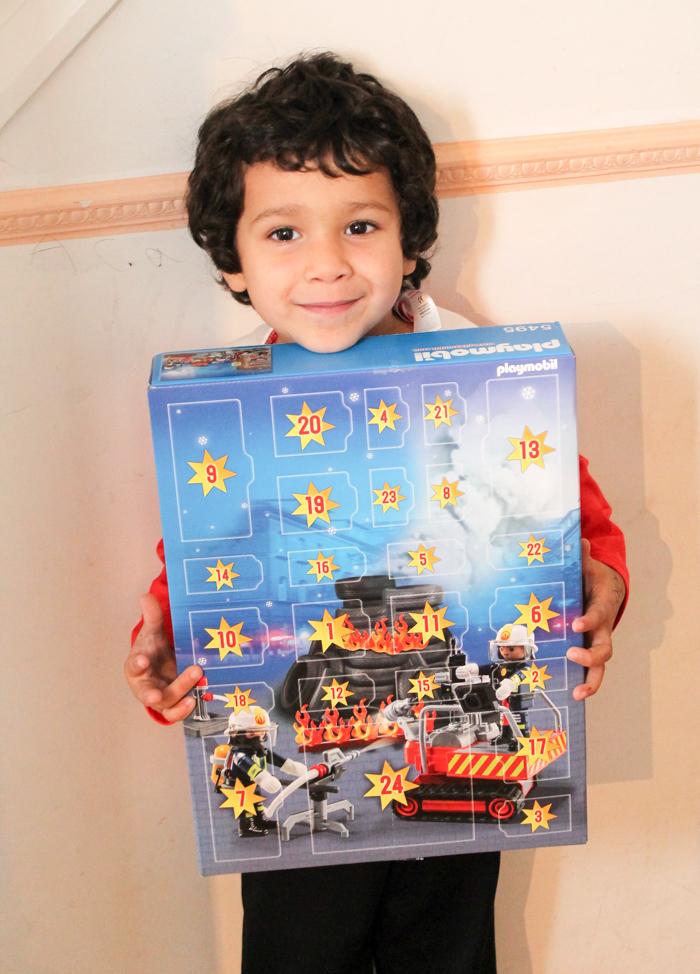 PLAYMOBIL advent calendar fire rescue operation