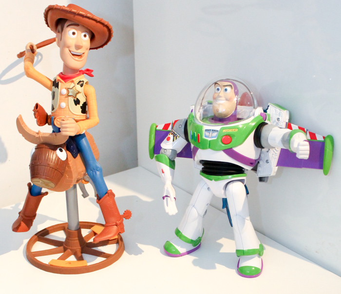 Disney Toy Story Rocket Blast Buzz and Bull Ridin' Woody