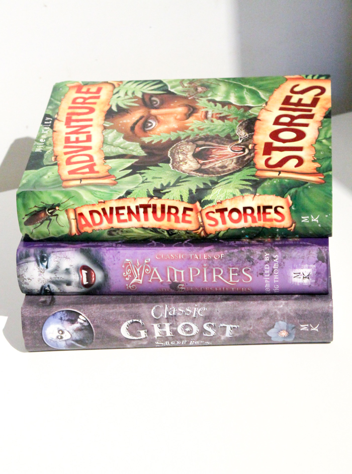 adventure and ghost books