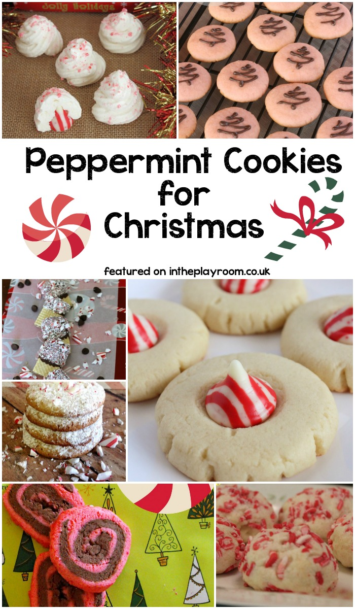Peppermint Cookie recipes for Christmas