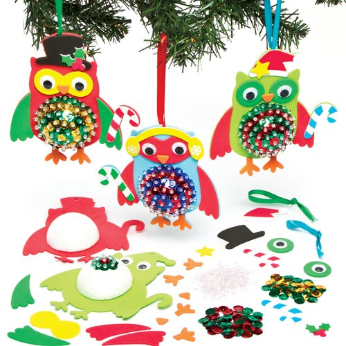 Owl Christmas Decorations Craft