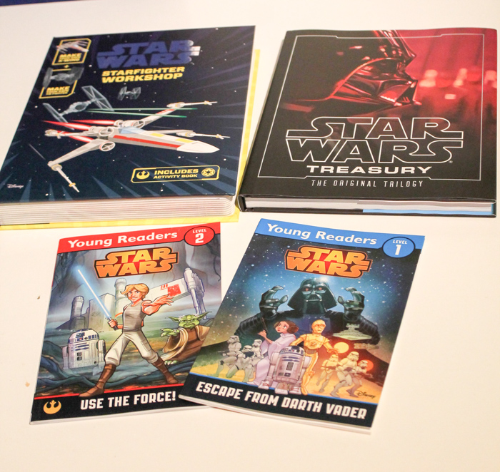 Star Wars books as gift ideas for Star wars fans this Christmas