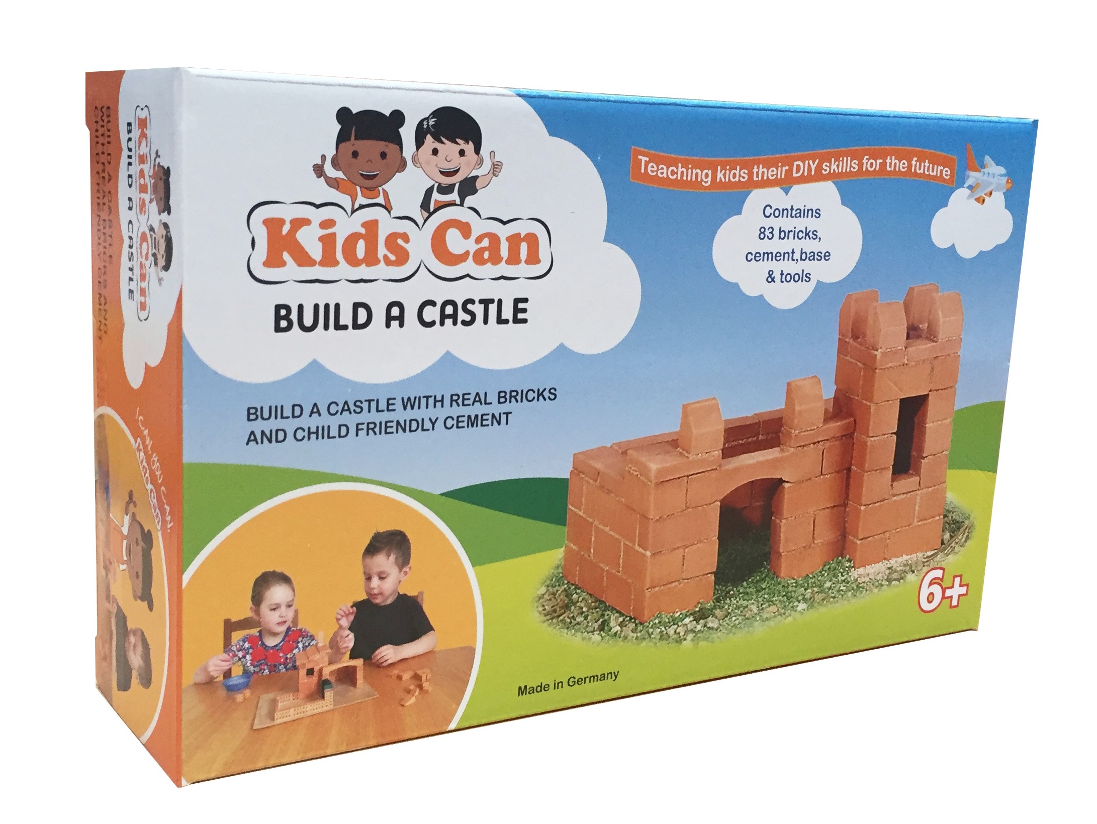 Building With Real Bricks With Kids Can Kits