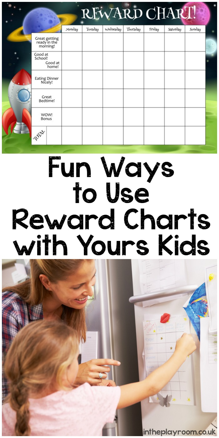Fun Ways to Use Reward Charts with Yours Kids