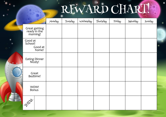 fun ways to use reward charts with your kids in the playroom