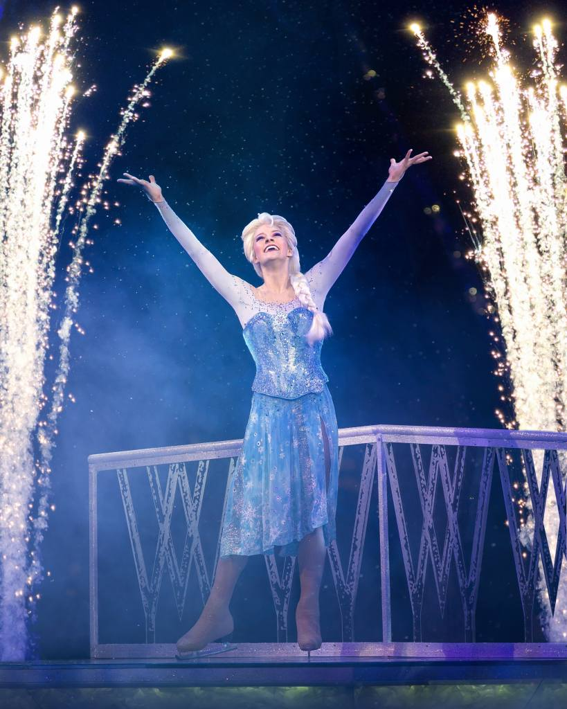 disney on ice worlds of enchantment frozen elsa let it go
