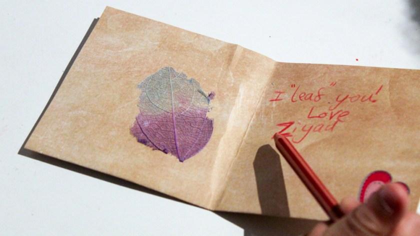 i leaf you valentine