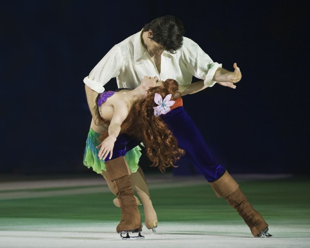 disney on ice worlds of enchantment the little mermaid ariel and prince eric