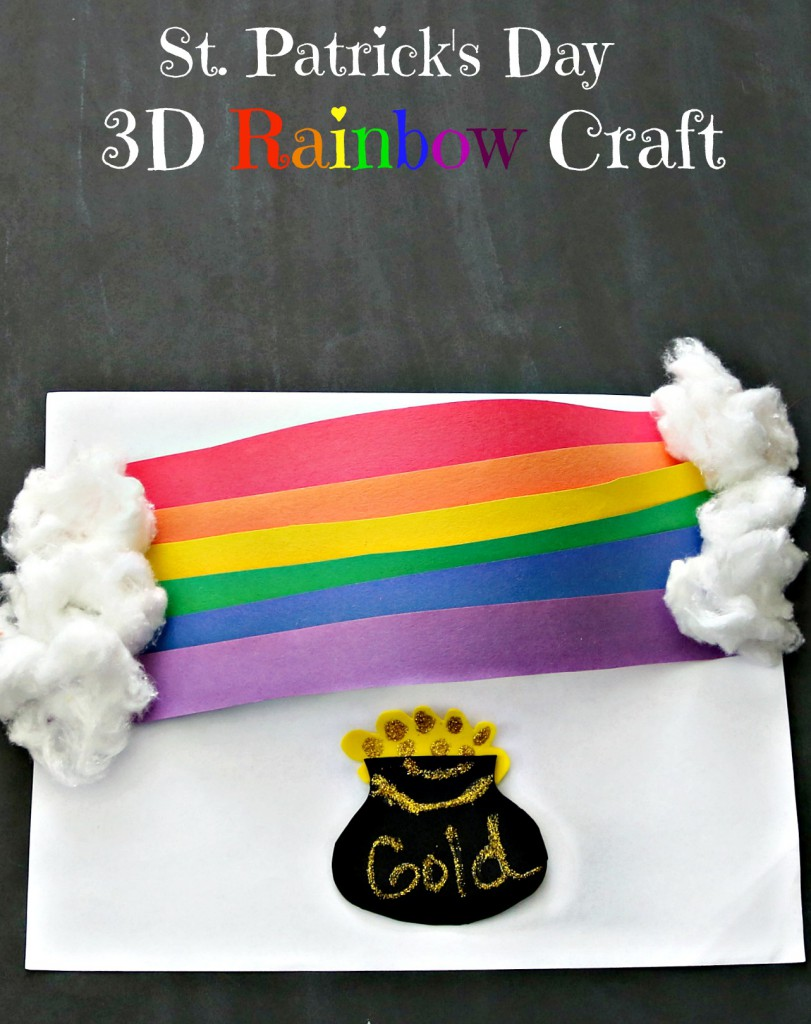 3d rainbow craft