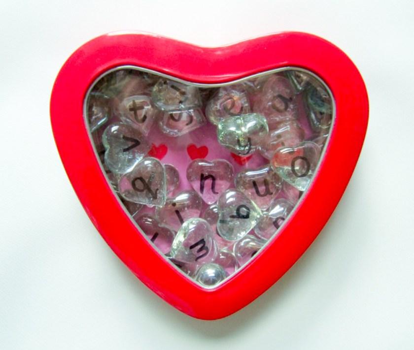 CVC heart busy bag