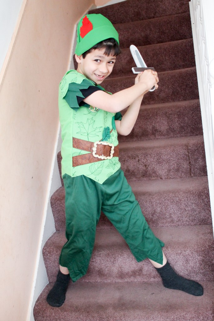 peter pan costume for world book day