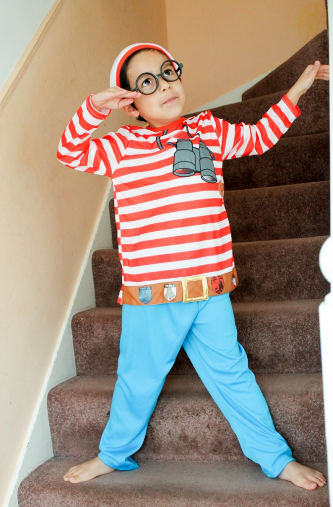 where's wally costume for world book day