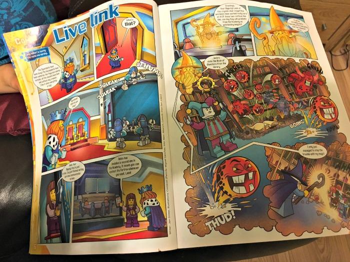 LEGO® NEXO KNIGHTS™ Magazine comic story page