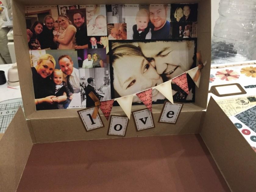 personalised photo memory suitcase craft